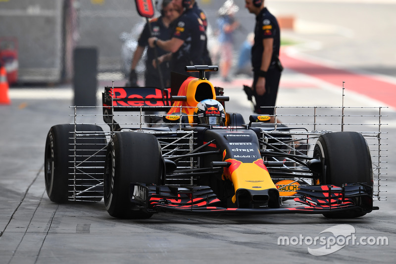 Daniel Ricciardo, Red Bull Racing RB13 con aero sensor