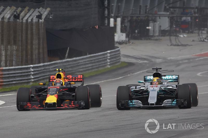 Hamilton y Verstappen, los que ganaron de punta a punta