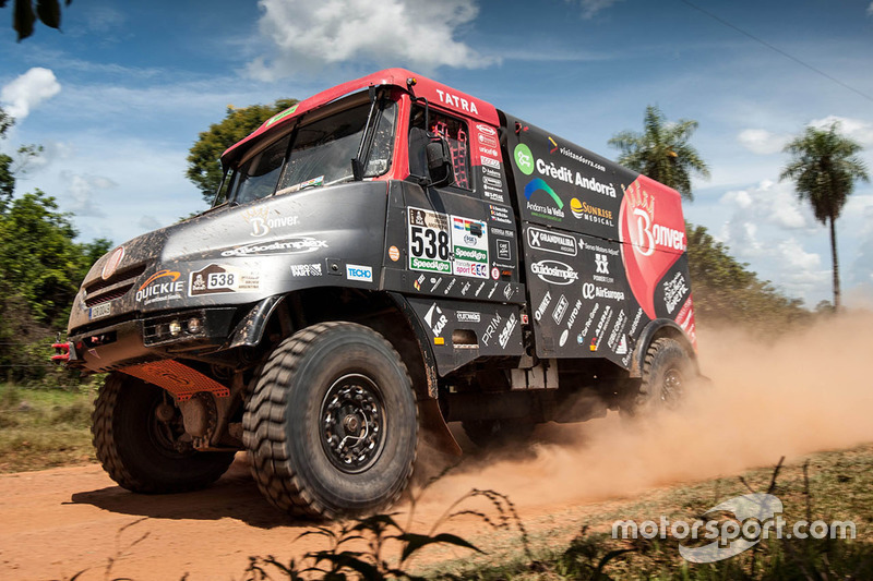 #538 Bonver Dakar Project Tatra: Albert Llovera, Charly Gotlib, Jaromir Martinec
