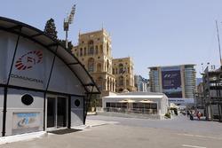 Fahrerlager in Baku