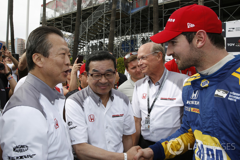 Toshiaki Mikoshiba President And CEO Of American Honda Motor
