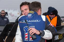 Ganador #94 Romain Dumas, Volkswagen I.D. R Pikes Peak, Simone Faggioli