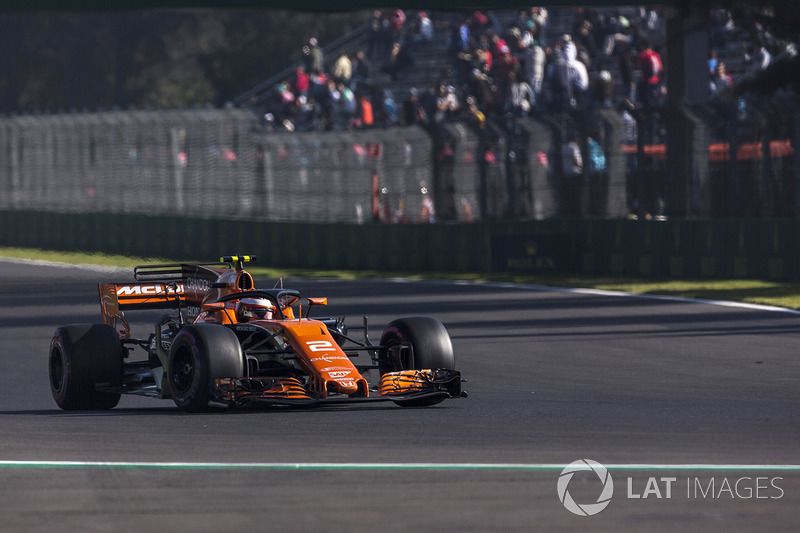 15. Stoffel Vandoorne, McLaren MCL32