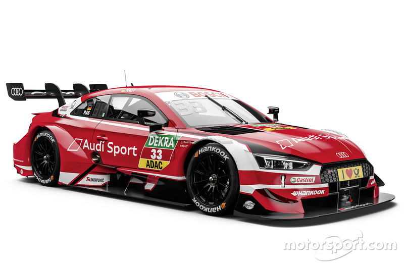 René Rast, Audi Sport Team Rosberg Audi RS5 DTM