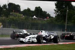 Robert Kubica, BMW Sauber F1.06 spins