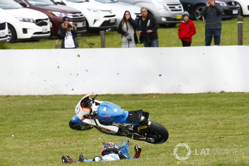 Edgar Pons, Pons HP 40 crash