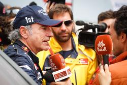 Winnaar Dakar 2018: Carlos Sainz, Peugeot Sport