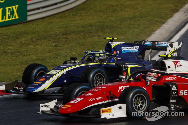 Lando Norris, Carlin, Antonio Fuoco, Charouz Racing System