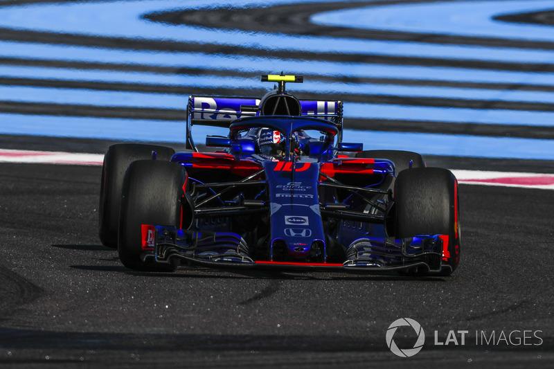 14: Pierre Gasly, Scuderia Toro Rosso STR13, 1'32.460