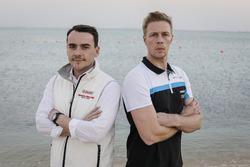 Norbert Michelisz, Honda Racing Team JAS, Honda Civic WTCC, Thed Björk, Polestar Cyan Racing, Volvo S60 Polestar TC1