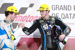 Podium: Lorenzo Baldassarri, Pons HP 40, Francesco Bagnaia, Sky Racing Team VR46