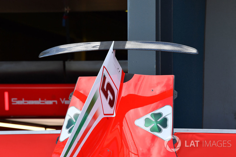 La carrosserie de la Ferrari SF71H