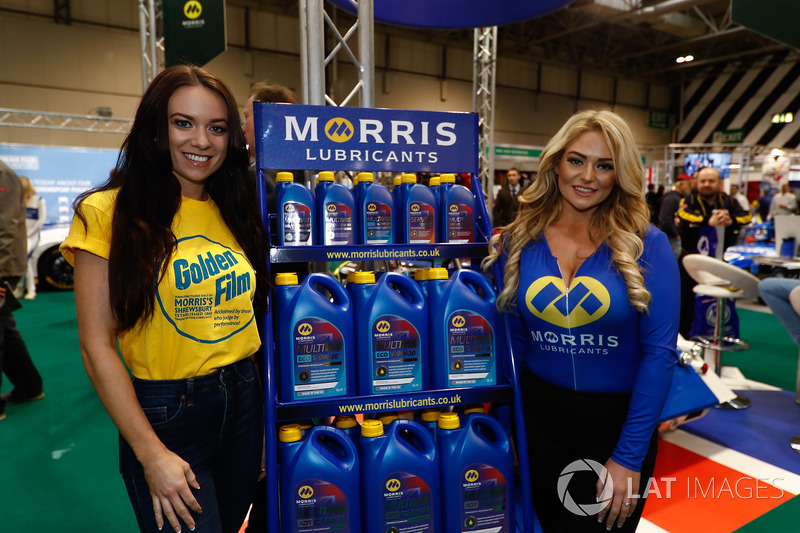 Morris Lubricants promotional models
