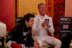 David Coulthard ve Lando Norris