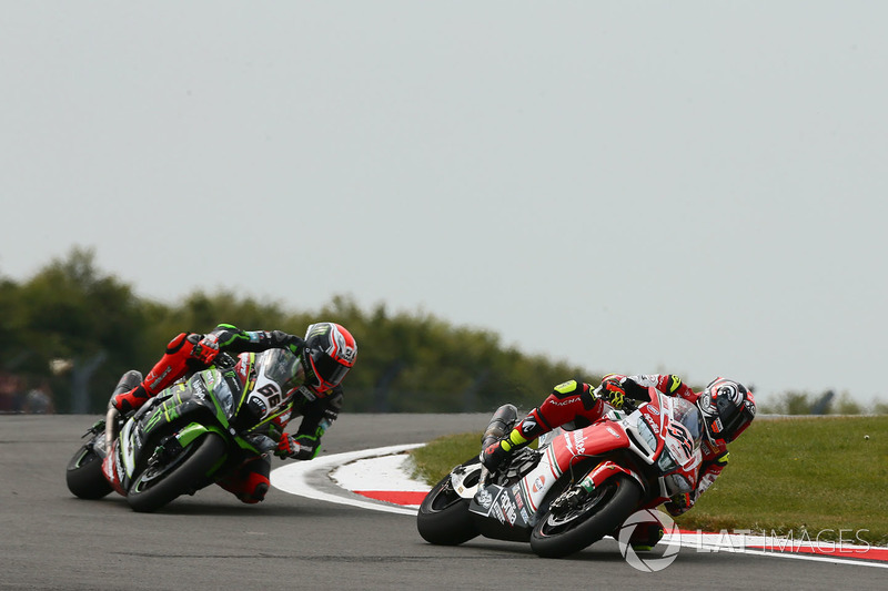 Lorenzo Savadori, Milwaukee Aprilia, Tom Sykes, Kawasaki Racing