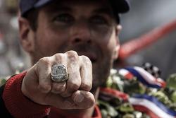 Winner Will Power, Team Penske Chevrolet champion's ring