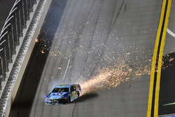 Ricky Stenhouse Jr., Roush Fenway Racing, Ford Fusion Fifth Third Bank wrecks