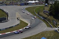 #67 Chip Ganassi Racing Ford GT, GTLM: Ryan Briscoe, Richard Westbrook, #25 BMW Team RLL BMW M8, GTLM: Alexander Sims, Connor de Phillippi