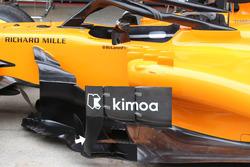 McLaren MCL33 sidepod deflektörleri