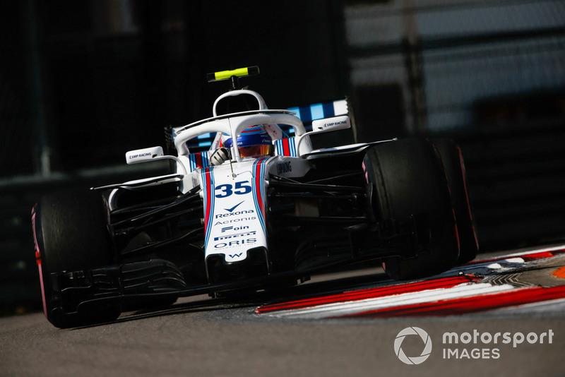 13: Sergey Sirotkin, Williams FW41, 1'35.612