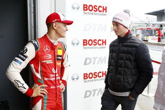 Mick Schumacher con David Schumacher