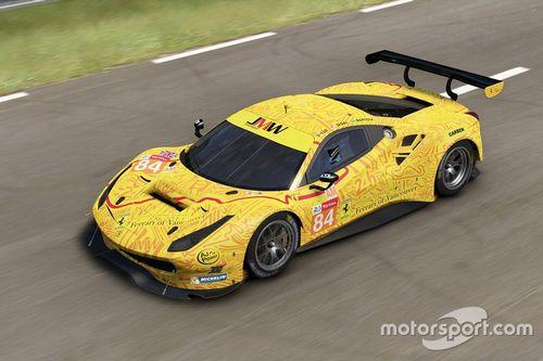Livrée JMW Motorsport
