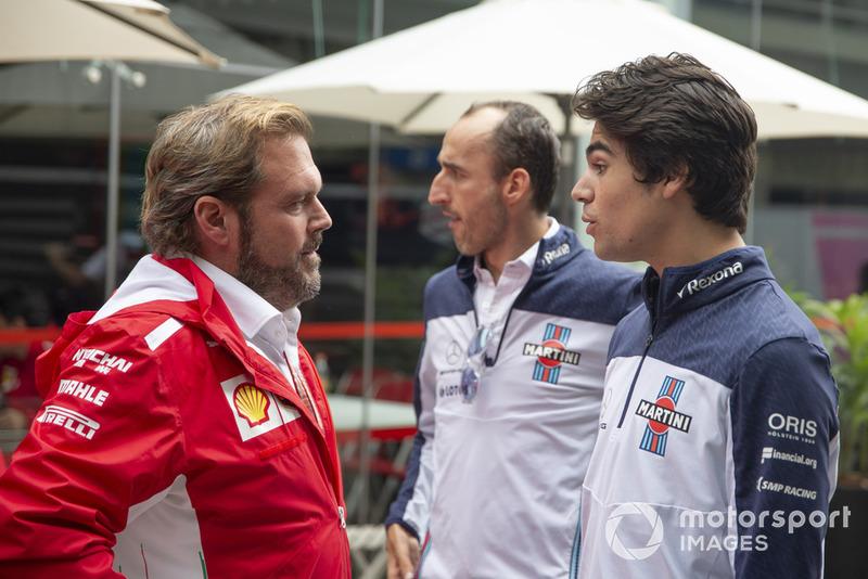Джіно Розато, Ferrari, Роберт Кубіца, Роберт Кубіца, Williams Racing