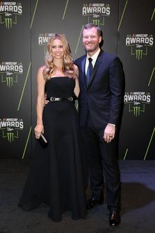 Dale Earnhardt Jr. mit Ehefrau Amy