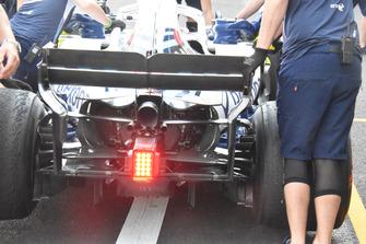 Williams FW41 rear detail