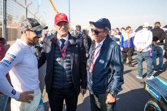Gary Paffett, HWA Racelab, sur la grille avec un invité