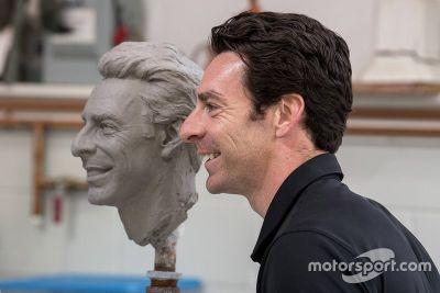Pagenaud Borg-Warner Trophy unveil