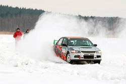 Александр Рогозин и Денис Тополев, Mitsubishi Lancer Evo IX