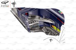 Red Bull RB14 side pod, İspanya GP