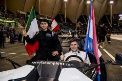Enzo Bonito and Rudy Van Buren of Team Simracing All Stars