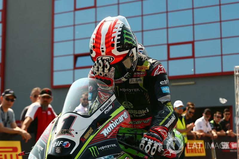 Pole position pour Jonathan Rea (Kawasaki Racing)