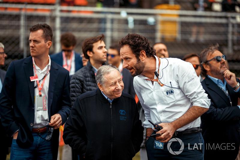 Президент FIA Жан Тодт и Маттео Бончиани