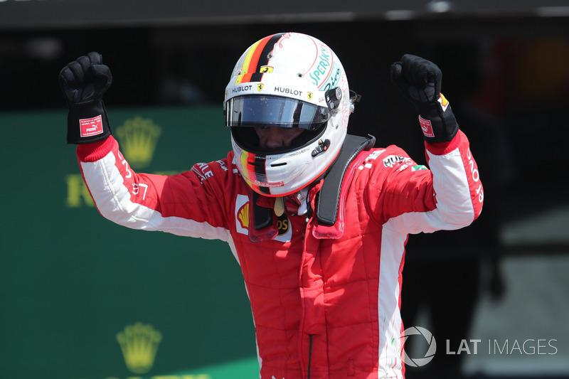 Sebastian Vettel - Ferrari: 9