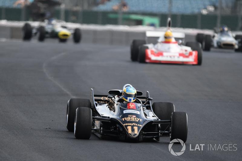 Lotus 88 at Silverstone 70th Anniversary Parade
