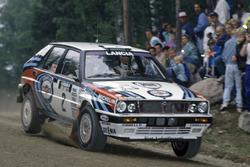 Juha Kankkunen, Lancia Delta