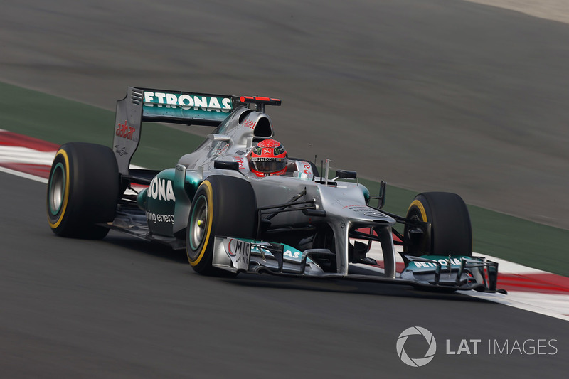 2012. Mercedes F1 W03