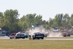 Leandro Mulet, RTM Competicion Dodge, Guillermo Ortelli, JP Carrera Chevrolet, Mariano Werner, Werner Competicion Ford
