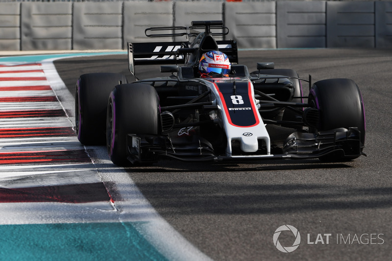 #8 Romain Grosjean, Haas F1 Team