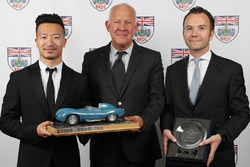 The Nigel Moores Trophy awarded to Jackie Chan DC Racing Jota