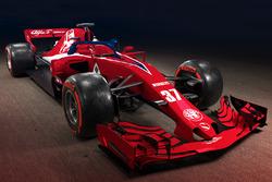 Concept de livrée Sauber-Alfa Romeo