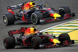 Red Bull RB13 2017 vs Red Bull RB14 2018