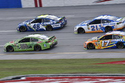Dale Earnhardt Jr., Hendrick Motorsports Chevrolet, Jimmie Johnson, Hendrick Motorsports Chevrolet