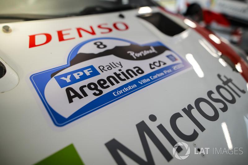 Rally Argentina, dettaglio