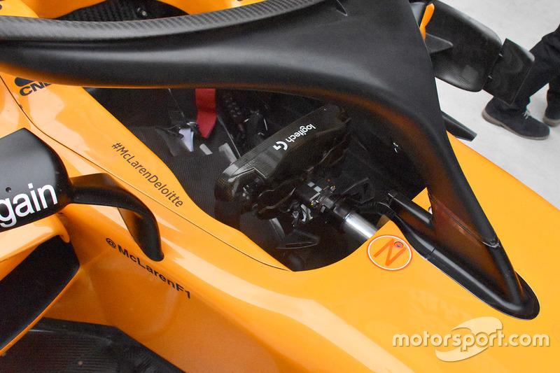 McLaren MCL33 kokpit detay