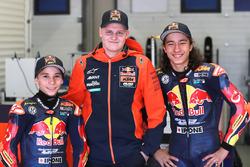 Deniz Öncü, Can Öncü, con Niklas Ajo, Red Bull KTM Ajo