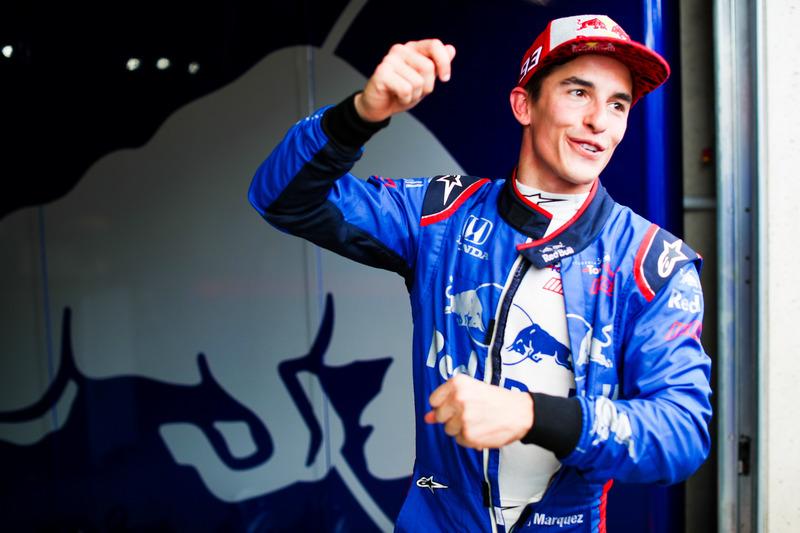 Marc Marquez, test Toro Rosso F1-wagen